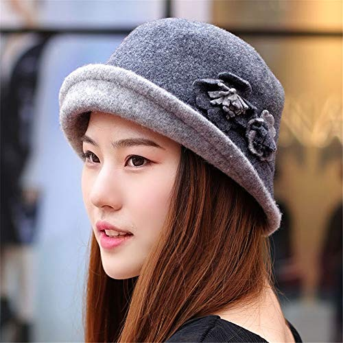 RangYR vrouwen - hoed herfst en winter mode - hoed muts winter - dames wol - hoed Fisherman 'S hoed