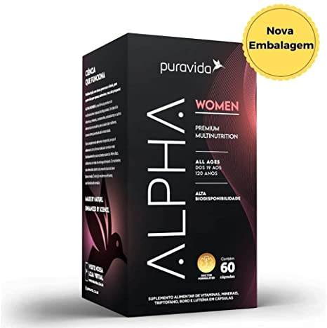 Alpha Women 750mg 60 cápsulas Puravida