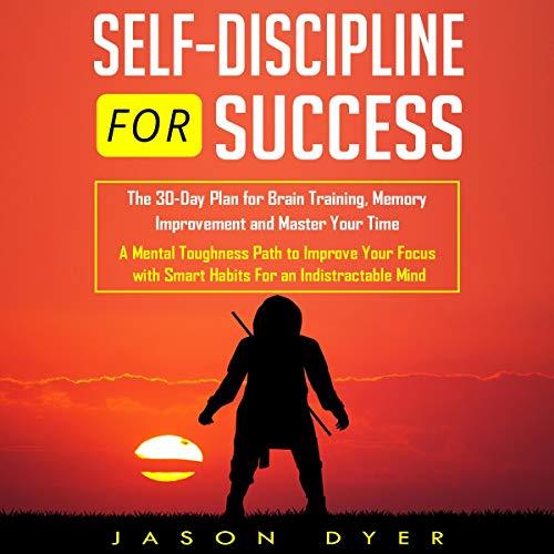 Self Discipline for Success audiobook cover art