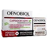 Oenobiol - Captador 3en1 Plus; 60 cápsulas + Regalo Oenobiol Autobronceador 30caps.