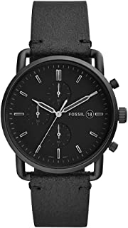 Fossil Men's FS5504 Chronograph Quartz Black Watch