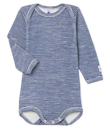 Petit Bateau Body Ml_5067602 Shaping, Multicolor (Medieval/Marshmallow 02), 86 (Talla del...