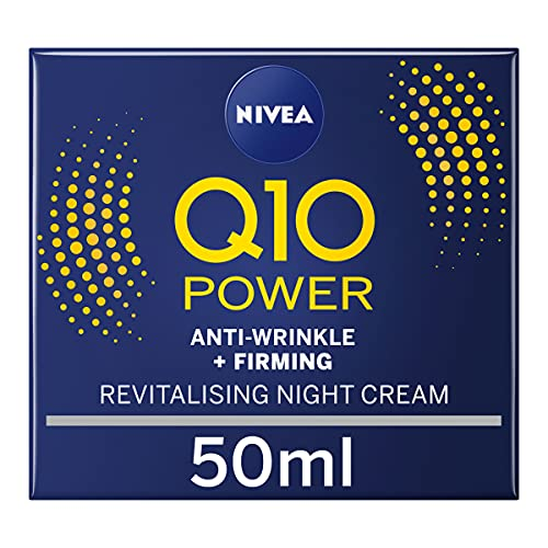 Nivea Q10 Power Anti-Wrinkle + Firming Revitalising Night Cream, 50ml