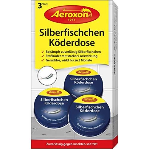 AEROXON Caja de cebo para peces plateados Paquete de 3