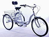 DISABILITY ADULT TRICYCLE BIG 26' WHEELS,ALLOY FRAME, A TRIKE ALSO SUITABLE FOR ABLE BODIED WHO CANNOT RIDE A BICYCLE HUGE DISCOUNT