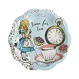 Paquete de 12 platos pequeños azules de Alicia en el país de las maravillas | Vajillas...