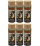 Majic Paints 8-206855-8 Camouflage Spray Paint 6-Pack, Aerosol, Desert Tan