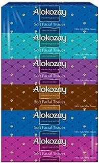 Alokozay 2 Ply Soft Facial Tissues 6-Pack