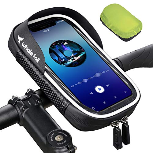 whale fall Wasserdicht Handyhalterung Handyhalter Fahrrad Motorrad Bike Lenkertasche