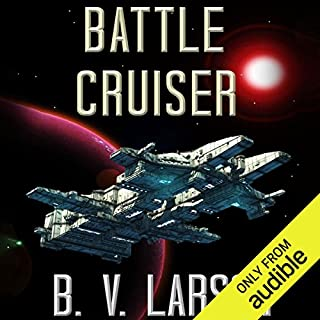 Battle Cruiser     Lost Colonies, Book 1              Written by:                                                                                                                                 B. V. Larson                               Narrated by:                                                                                                                                 Edoardo Ballerini                      Length: 13 hrs and 9 mins     7 ratings     Overall 4.6