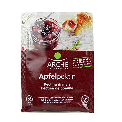 Pectina de manzana en polvo no amidada en sobres de 20 g Arche | Pectina orgánica (Autorización porque no está amidada) - Pectina para mermelada - 20 g