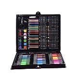 Conjuntos de Arte Lápices de Dibujo for niños Regalos Personalizados for niñas y niños (Color : Black, Size : Free Size)
