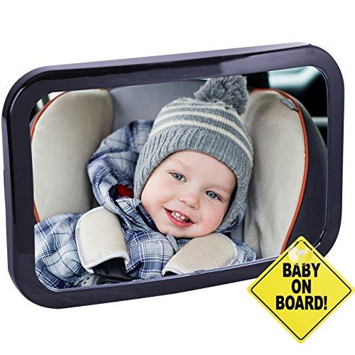 CARTMAN BABY CAR MIRROR 넓은 맑은 맑은보기 산산 방지 완전 조립 충돌 테스트 및 인증