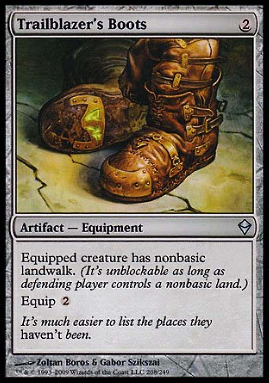 Magic  the Gathering - Trailblazer& 39;s Boots (208) - Zendikar - Foil