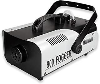 Stage Accessories Effect Machines Fog Machine with LED Lights Portable 7 Colors 900W Smoke Machine with Wireless Remote Co...