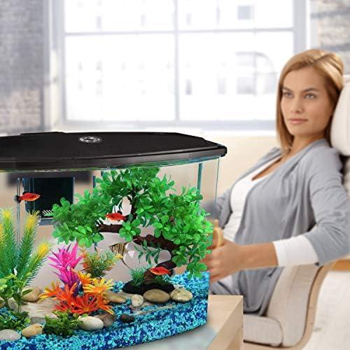 Koller Products Smart Tank 7 Gallon Aquarium LED Lighting Multiple Colors Full Filtration 45 product image