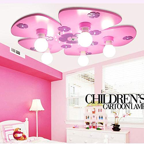 PU plafondlamp - (vele opties) kinderkamer oog - beschermde lichten jongens en meisjes slaapkamer creatieve comic plafondlampen (E14 * 5) - plafondlamp