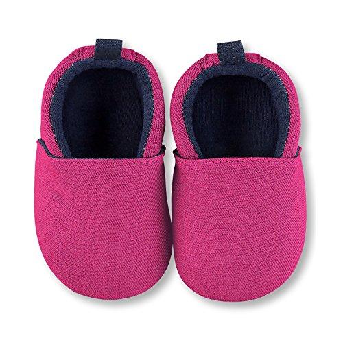 Sterntaler Baby Mädchen Krabbelschuh Krabbel- & Hausschuhe, Pink (Magenta 745), 22 EU