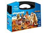 Playmobil 9542 History Collectable Egyptian Treasure Carry Case Jouet, Nylon/A
