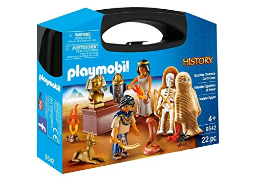 Playmobil 9542 History Collectable Egyptian Treasure Carry Case Jouet,...