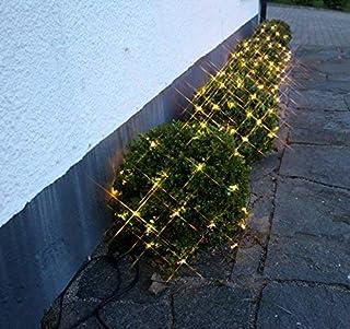 Best Season 491-20 - Red de luces LED con efecto de nieve (1 unidad de 1 m, 42 bombillas, luz blanca cálida)