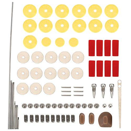 pratique kit de maintenance réparation replacement pour instrument de musique Ensemble de pièces accessoires replacement pour flûte