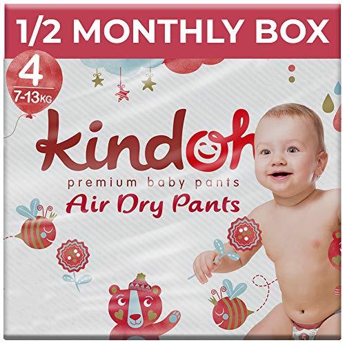 Kindoh AirDry Pants Maxi - HALBMONATSBOX - 88 Stück (Größe 4)