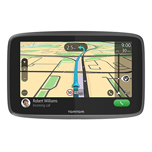 TomTom Truck Sat Nav GO Professional 620 with European Maps and Traffic Services (via Smartphone) Updates via WI-FI, Designed for Truck, Coach, Bus and Large Vehicles