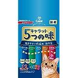 キャラット 5つの味 飽きやすい成猫用 海の幸 1.2kg