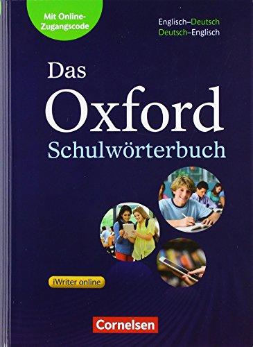 Das Oxford Schulwörterbuch - Ausgabe 2017: A2-B1 - Wörterbuch: Flexibler Kunststoff-Einband