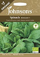 JOOG 英国ジョンソンズシード Johnsons Seeds ORGANIC Spinach Renegade F1 オーガニック スピナッチ(ほうれんそう)・レネゲイド・F1