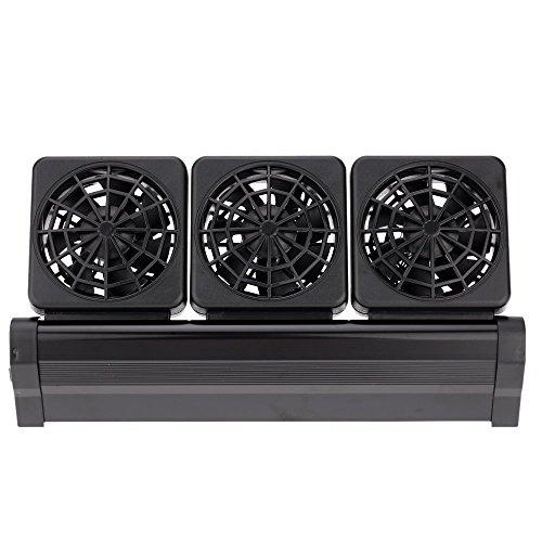 Anself - Ventilador de Acuario Pecera Enfriadora de Refrigeración de Viento Frío para Tanque de Peces (2 Velocidades)