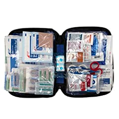 "Contains 298 essential first aid supplies for treating minor aches and injuries Clear plastic pockets  for organization and easy access to first aid supplies in an emergency Ideal for home, travel and on the go use Compact case measures 9.25"" x 2.875..."