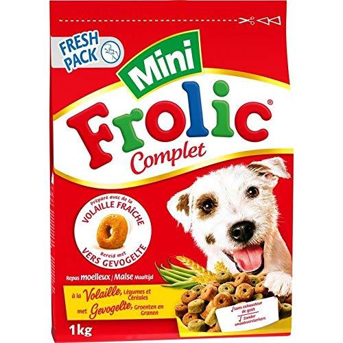 Animalerie Frolic - À La Volaille Aux Légumes Et Aux Céréales 1Kg - Lot De 4 - Livraison Gratuite