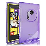 JKase Slim-Fit Streamline Ultra Durable TPU Case for Nokia - Retail Packaging (Nokia Lumia 1020, Purple)