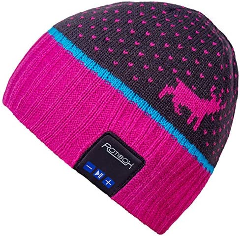 Mydeal Unsex Bluetooth Beanie Hat Music Cap with Wireless Stereo Over Ear Headphone Headset product image