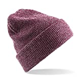 Heritage Style Beanie Hat one size,Heather Burgundy