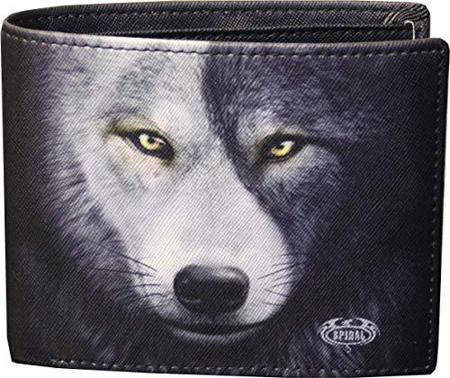 Spiral - Wolf CHI - Brieftasche - zweifach faltbar - mit RFID-Blocker und Geschenkbox