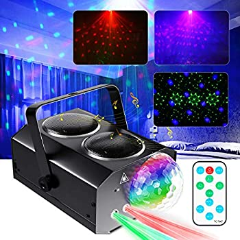 Nextamz Sound Activated Disco Ball Lights with Remote Control