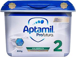 (跨境自营)(包税) Aptamil 德国爱他美白金版安心罐 较大婴儿配方奶粉 2段 800g(6-12个月)