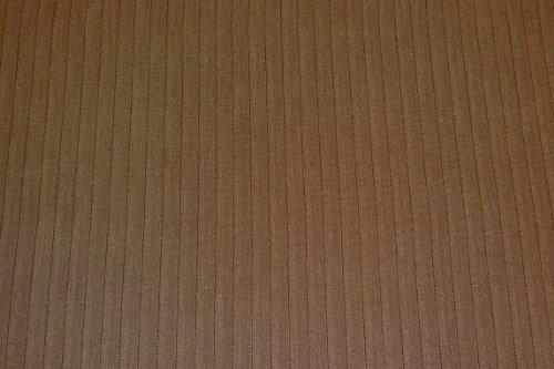 (6,99€/m) Dora - Wollstoff braun - Stoff Meterware - 15% Wolle - 30% Polyester - 50% Viskose - 5% Elasthan - Grundton: braun/schilf - Fischgrat - Muster