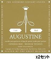 AUGUSTINE/オーガスチン IMPERIAL/RED×2セット ミディアムテンション