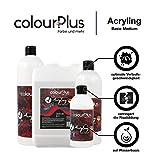 colourPlus® Acryling (3 Liter, Basic Medium) Exklusives Bindemittel für eine optimale Pouring-Anwendung mit Acryl-Farben, Made in Germany - 4