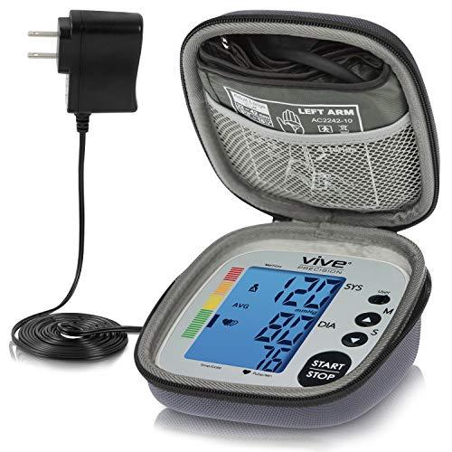 Vive Precision Blood Pressure Cuff - Heart Rate Monitor Machine -...