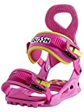 Drake Snowboard Vinculante Mujeres Queen, Yellow/Pink, Medium