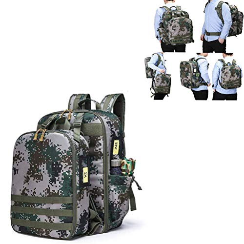 応急処置キット、防水ミリタリーバックパック、ハンターズレンジの安全装備用キャンプアウトドアハイキングトラベルバッグ