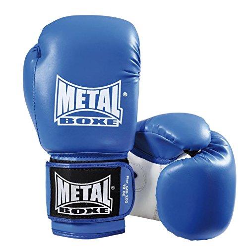 METAL BOXE MB200 Boxhandschuhe 340 g Blau - blau