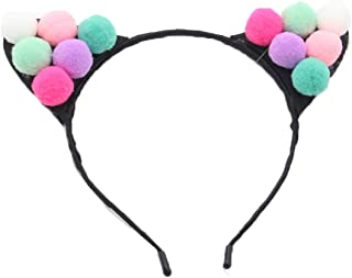 Girls Cute Candy Color Cat Ear Costume Headband Party Headpiece Photo Props HD-21