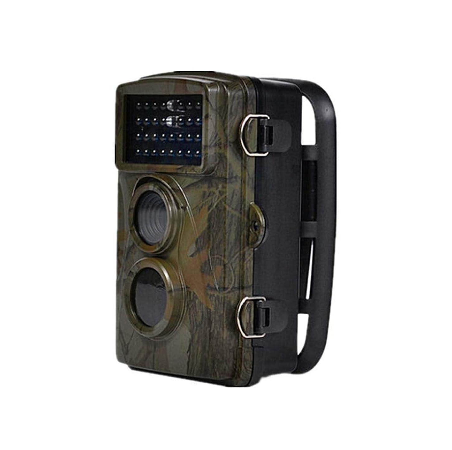 ポジション漂流実際野生動物用カメラ、2.4インチ液晶ディスプレイ、12MP 1080 Pトレイルゲームカメラ、赤外線モーションナイトビジョン20 m IP 56付き野生生物狩猟およびホームセキュリティ