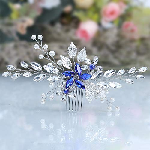 Luvehandicraft Wedding Hair Comb Bridal Comb for Wedding Headpieces for Brides Wedding Hair Accessories